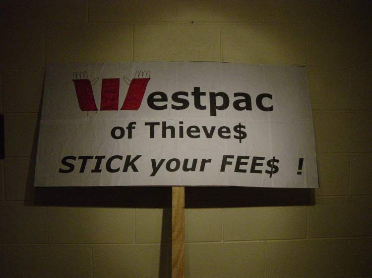 Westpac of Thieves - Stick your Fees,1